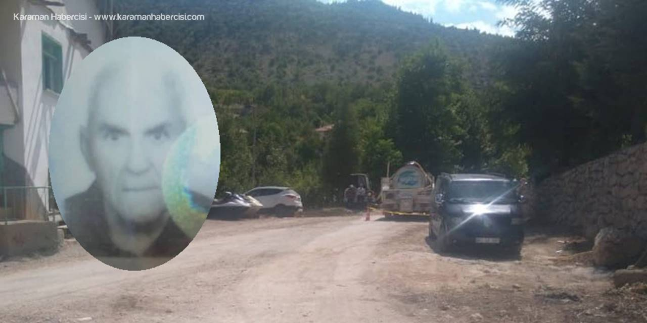 Karaman'da süt tankerinin çarptığı yaşlı adam öldü