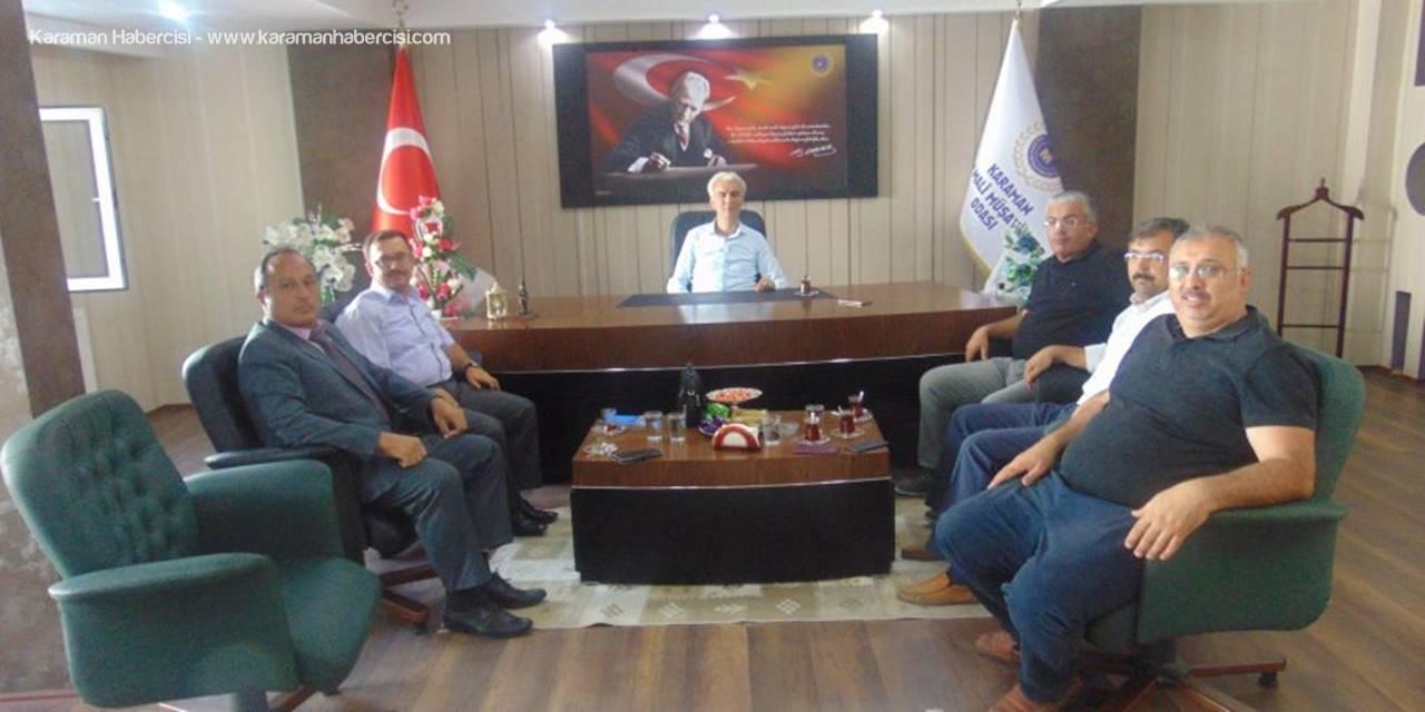 SGK Karaman İl Müdürü Fındık'tan Muhasebecilere Ziyaret