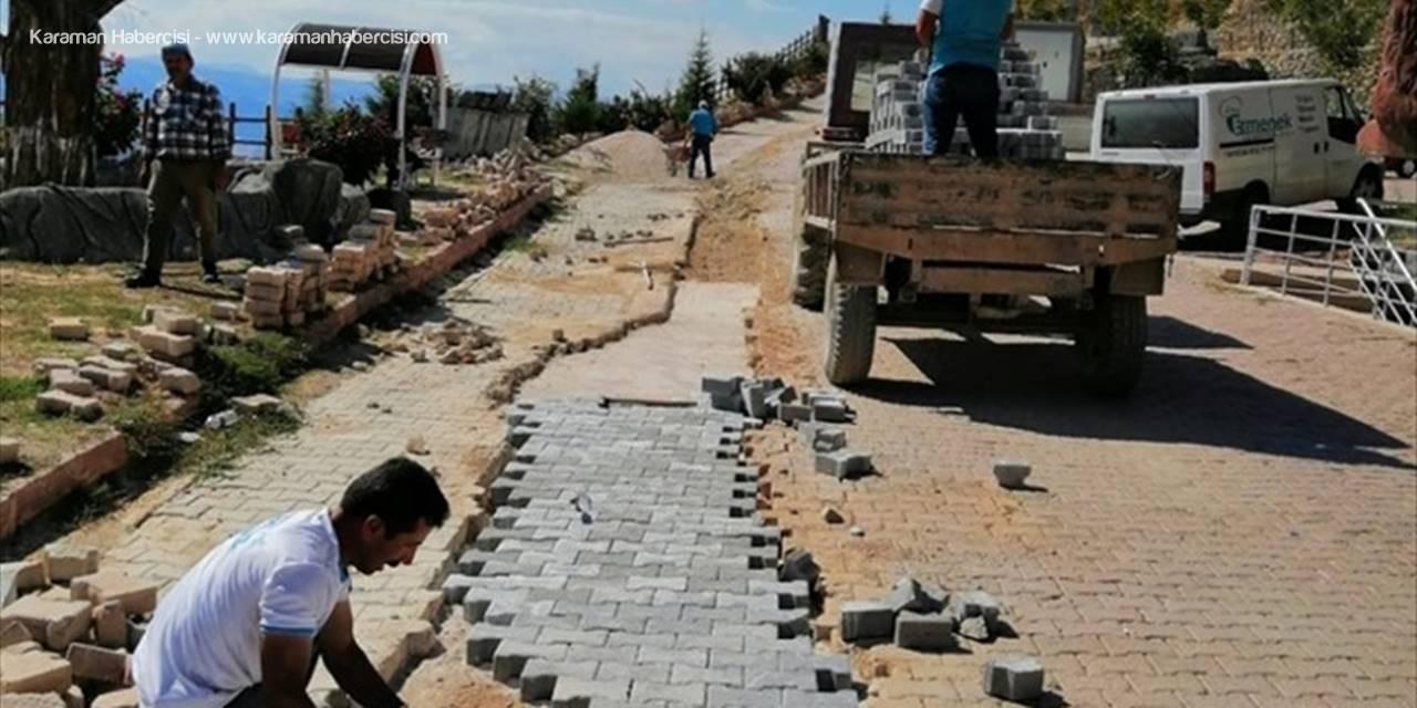 Ermenek'te Yol Yapım Çalışmaları