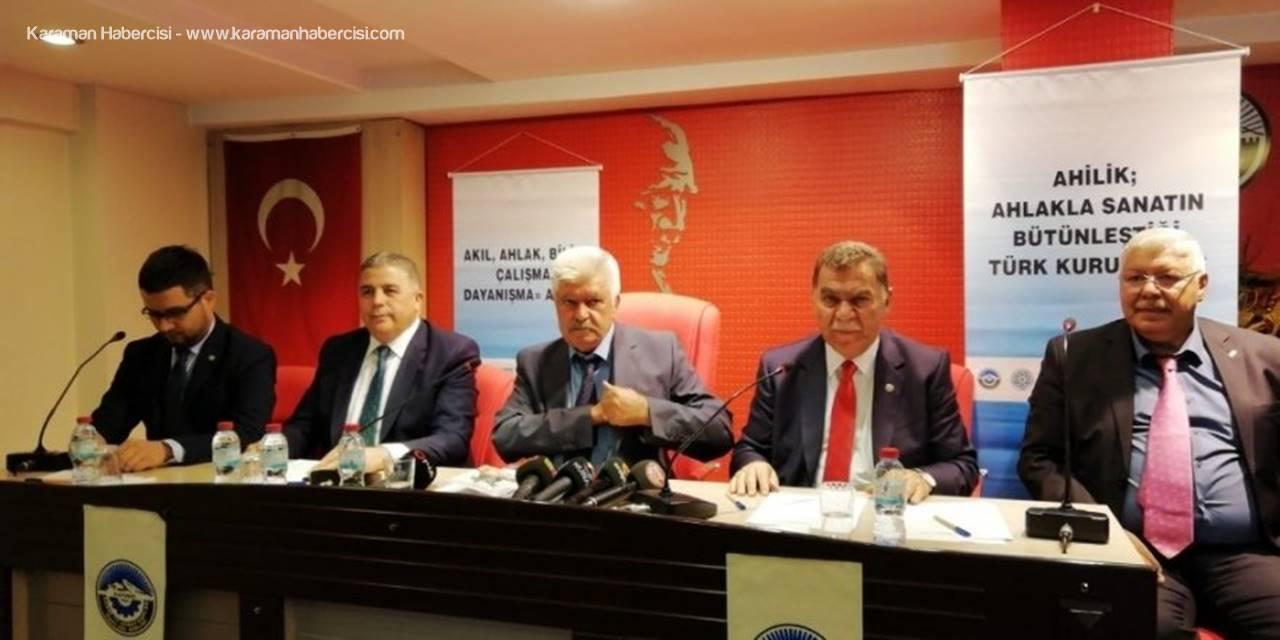 """Kayseri Esnaf Ve Sanatkarlar Kredi Ve Kefalet Kooperatifi Başkanı Mustafa Alan: """"Ahi Evran'ı Geri Getiremeyiz Ama Prensiplerini Gelecek Kuşaklara Aktarmalıyız"""""""