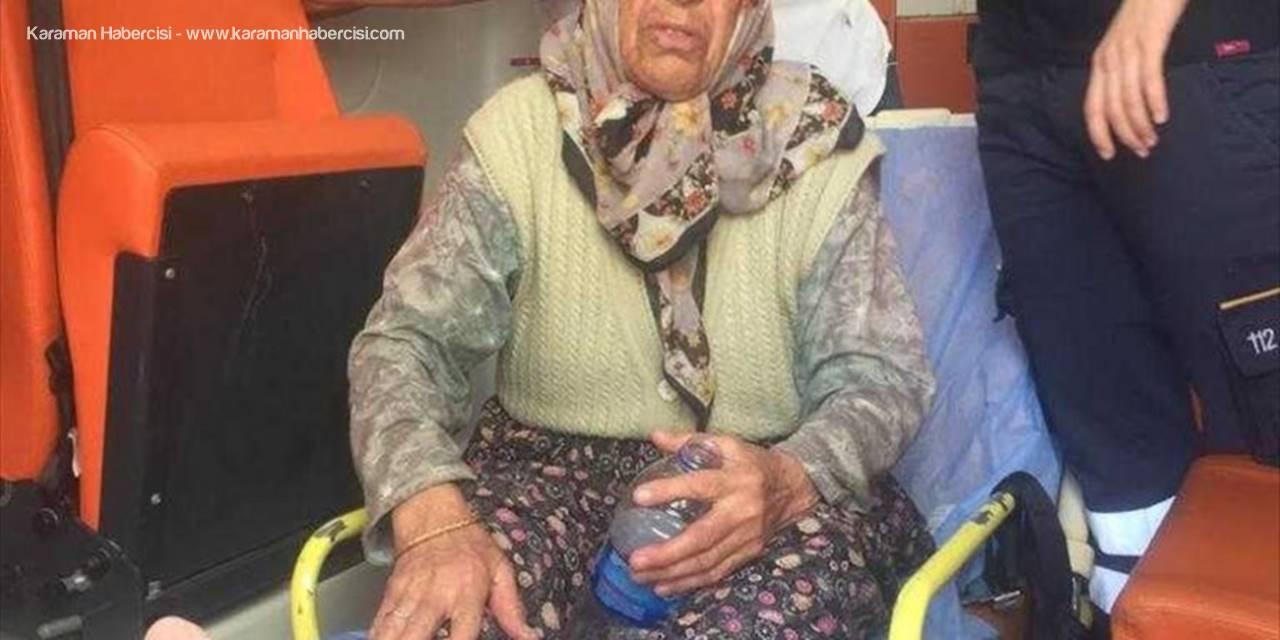 Alzaymır Hastası Yaşlı Kadını Jandarma Ekipleri Buldu