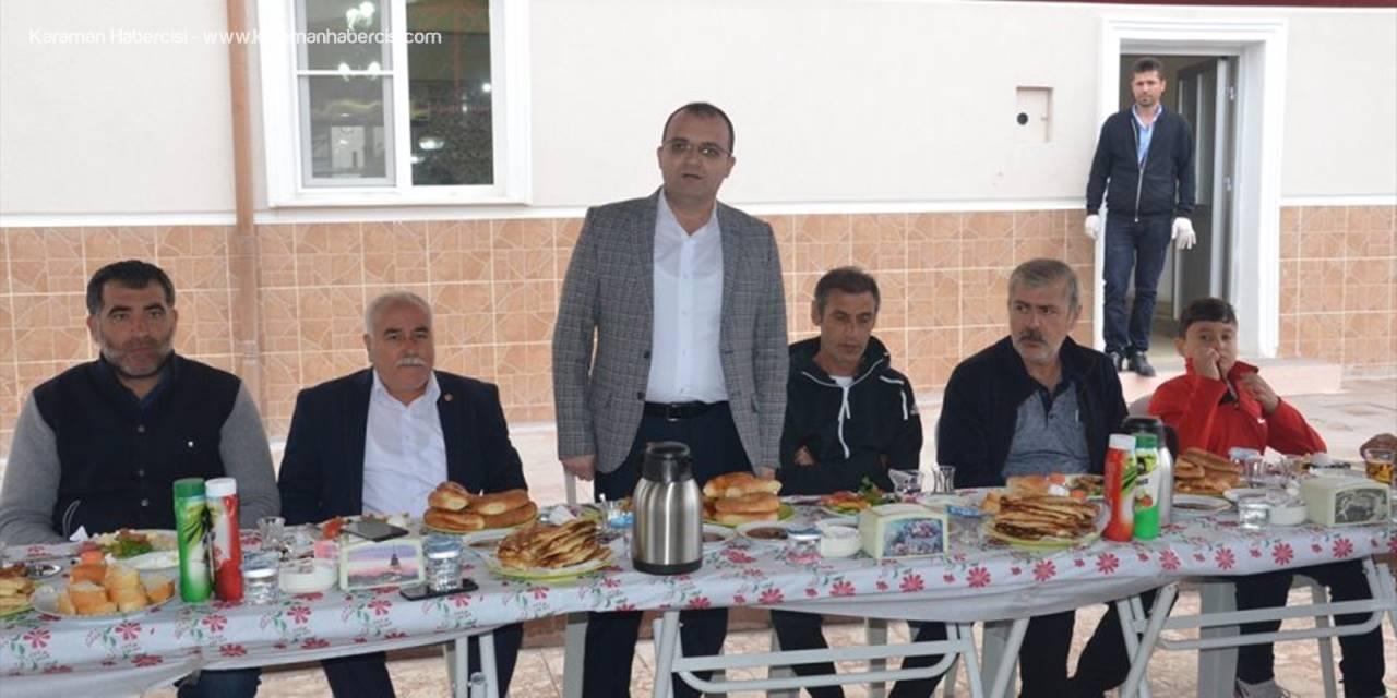 Karaman Belediyespor Yönetimi Basınla Buluştu