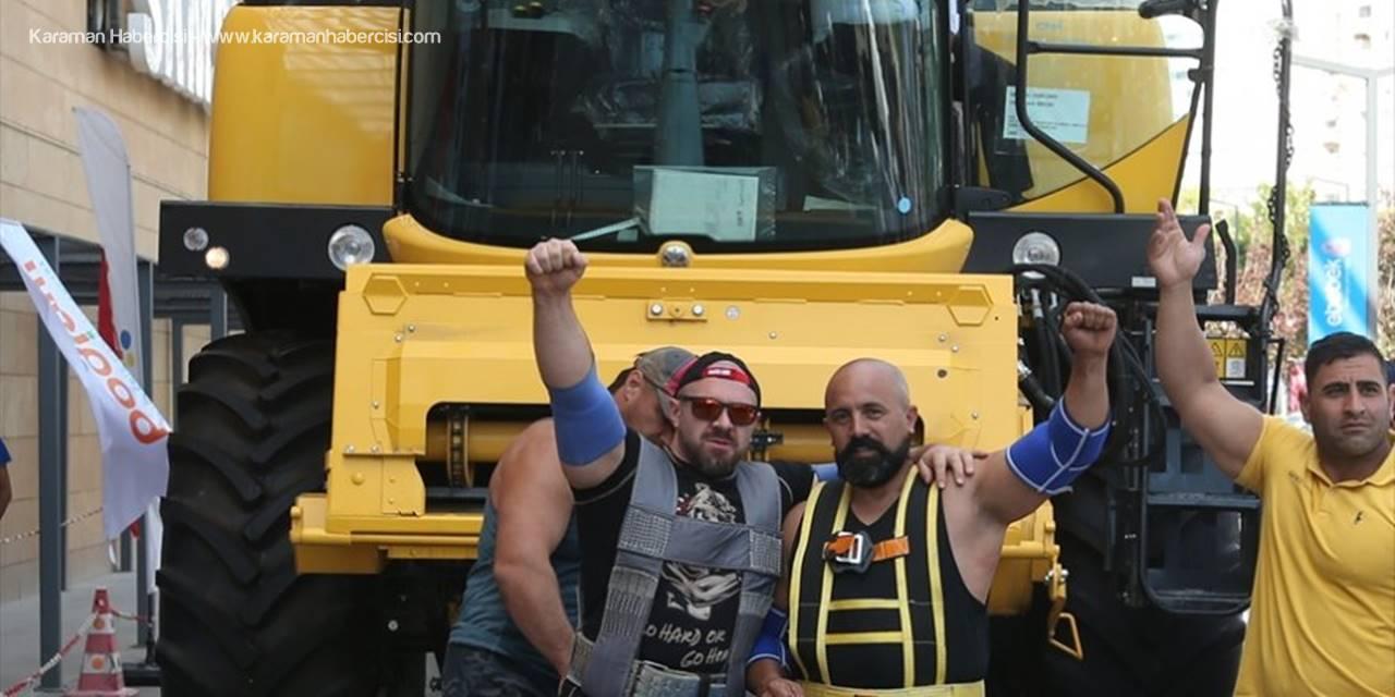 """""""Dünyanın En Güçlüleri""""nden Ankara'da Rekor Denemesi"""