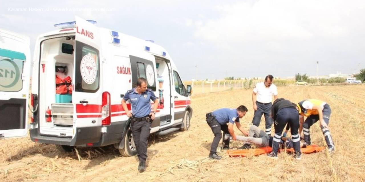 Karaman'da İki Genç Mısır Tarlasında Baygın Halde Bulundu