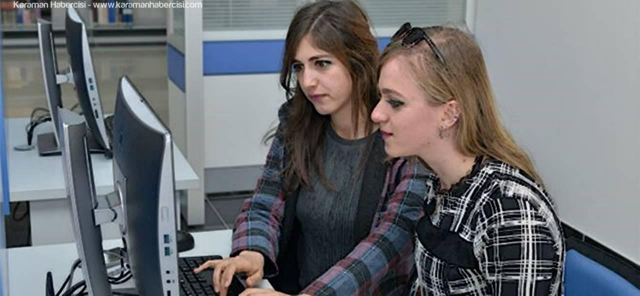 KMÜ'de Öğrenciler İçin İnternet Erişim Merkezi Açıldı