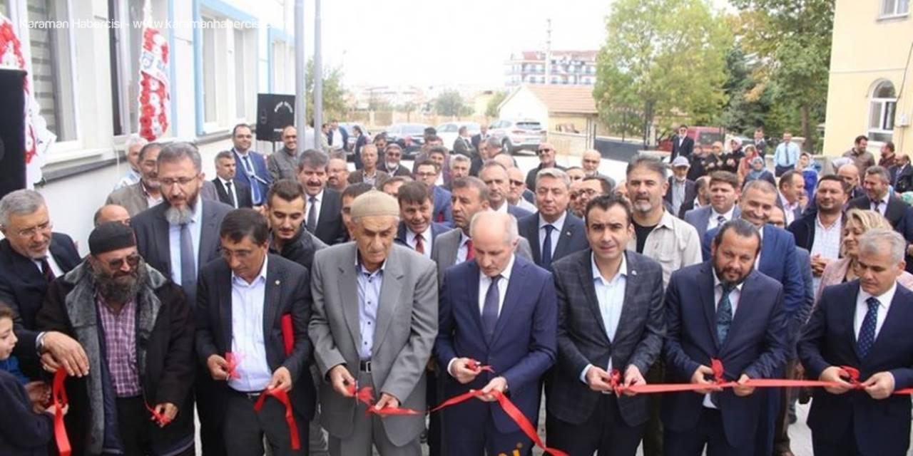 Karaman'da Yeni Yapılan Kur'an Kursunun Açılışı Gerçekleşti