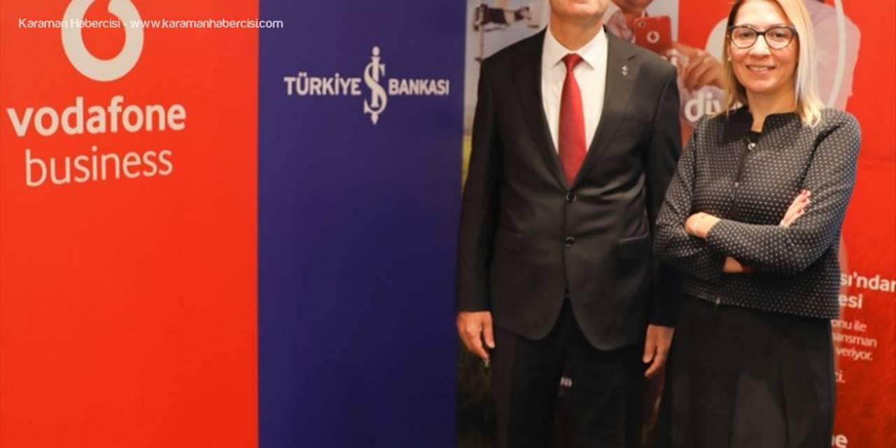 Vodafone Ve Türkiye İş Bankası'ndan Dijital Tarım Projesi