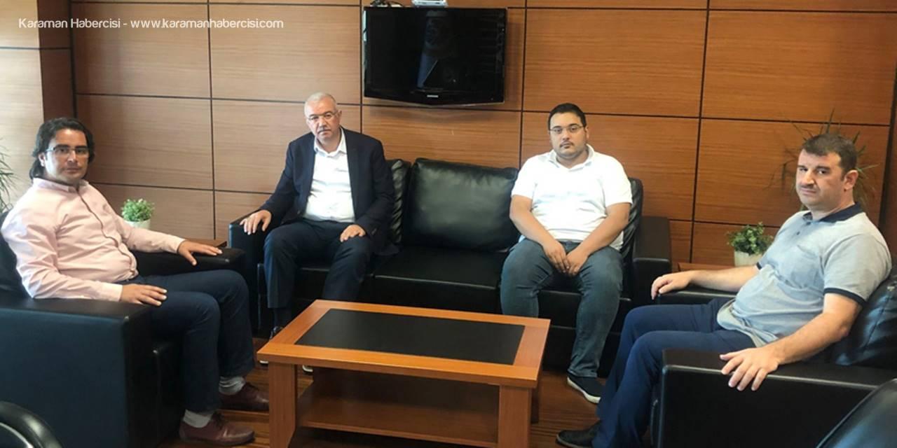 AK Parti İl Başkanı Çağlayan'ın KTSO Ziyareti