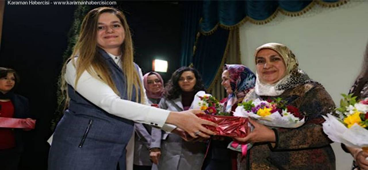 Kadın ve Aile Hizmetleri Müdürlüğünden Kadınlar Günü Kutlaması
