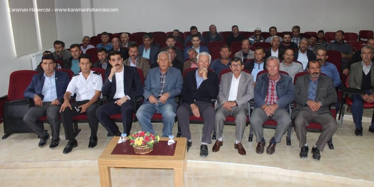 Ayrancı'da Divle Peyniri, Çoban Çadırı Ve Koyun Yetiştiriciliği Toplantısı