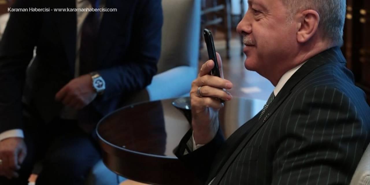 Cumhurbaşkanı Erdoğan'dan Kayaalp'e Kutlama