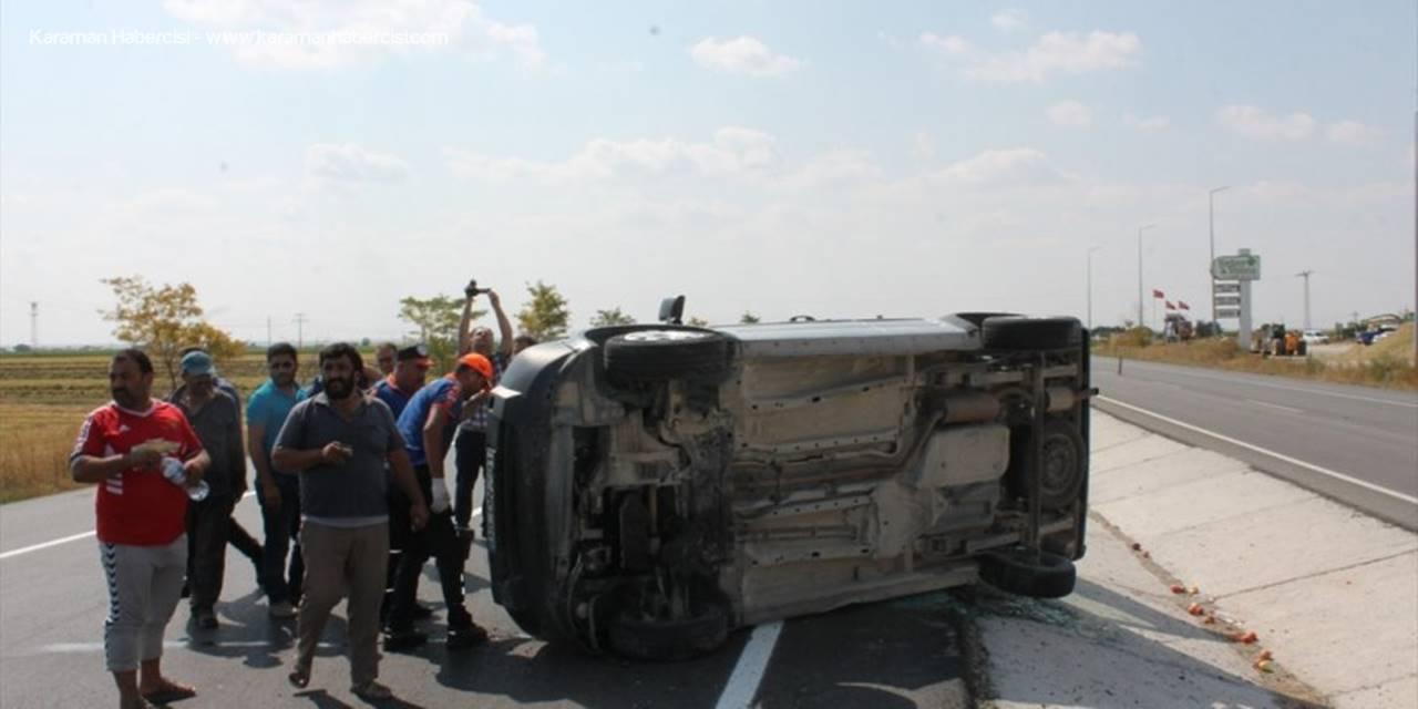 Aksaray'da Hafif Ticari Araçla Tır Çarpıştı: 5 Yaralı