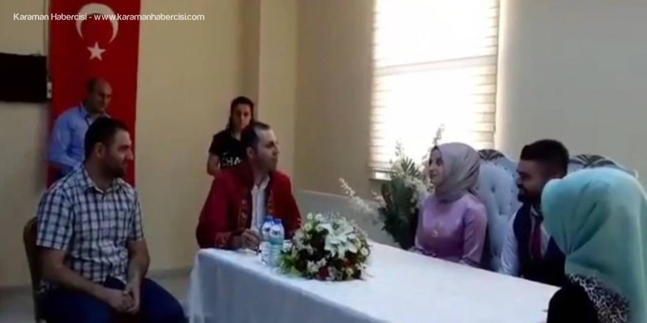 İşitme Engelli Çiftin Nikahı İşaret Diliyle Kıyıldı