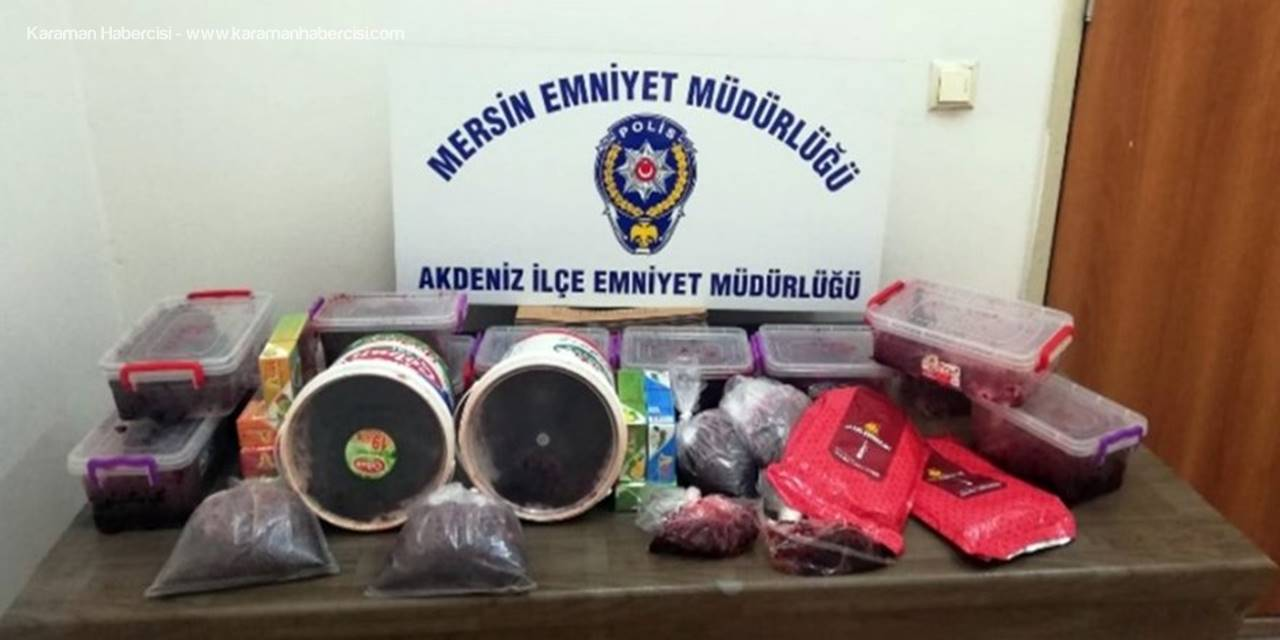 Mersin'de Kaçakçılık Operasyonu
