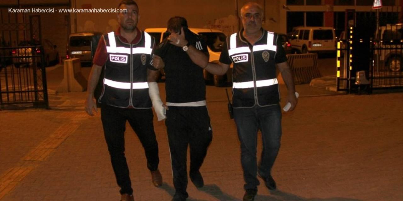 İkinci Kattan Atlayan Cezaevi Firarisi Hükümlü, Polisten Kaçamadı