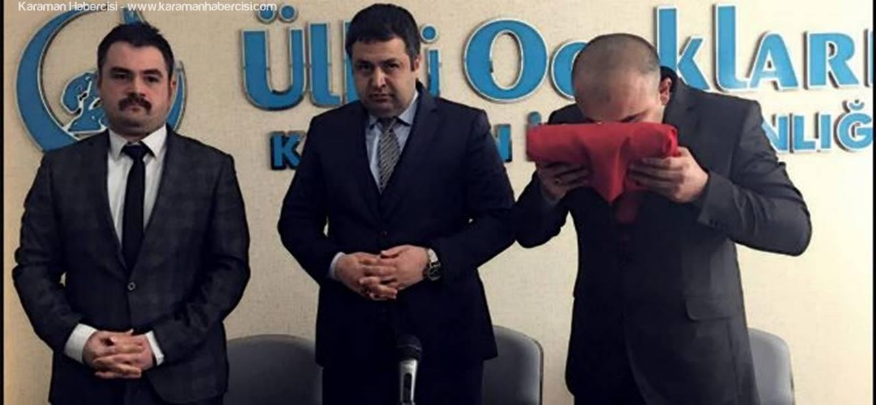 Karaman Ülkü Ocakları Yeni Başkanı Yusuf Başkocagil