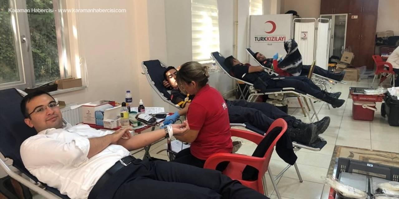 Kaymakam Taşkıran'dan Kan Bağışı