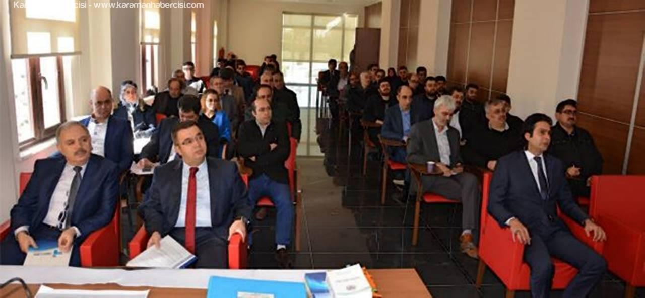 Karaman TSO'da İstihdam Seferberliği Anlatıldı
