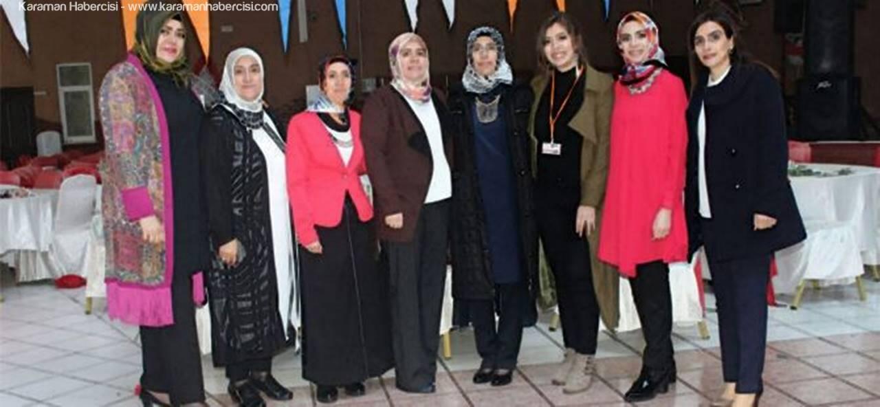 AK Parti Karaman Kadın Kolları 8 Mart Dünya Kadınlar Gününü Kutladı