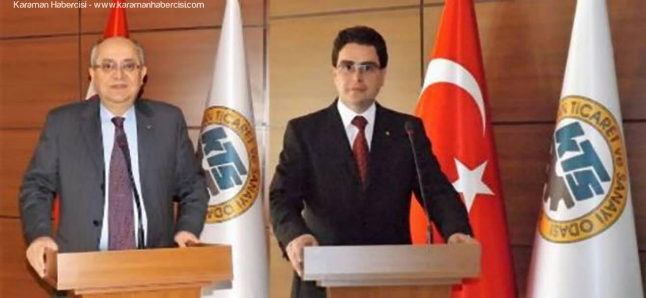 Karaman TSO Başkanları 14 Mart Tıp Bayramı Mesajı Yayınladı