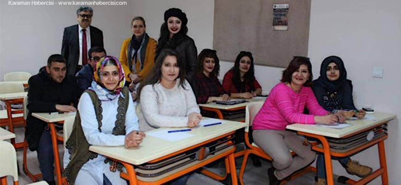 Karaman'da Resim Kursu Eğitimleri Başladı