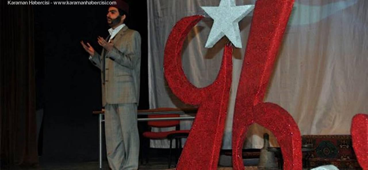 Piri Reis Kültür Merkezinde İstiklal Marşının Kabulü Kutlandı