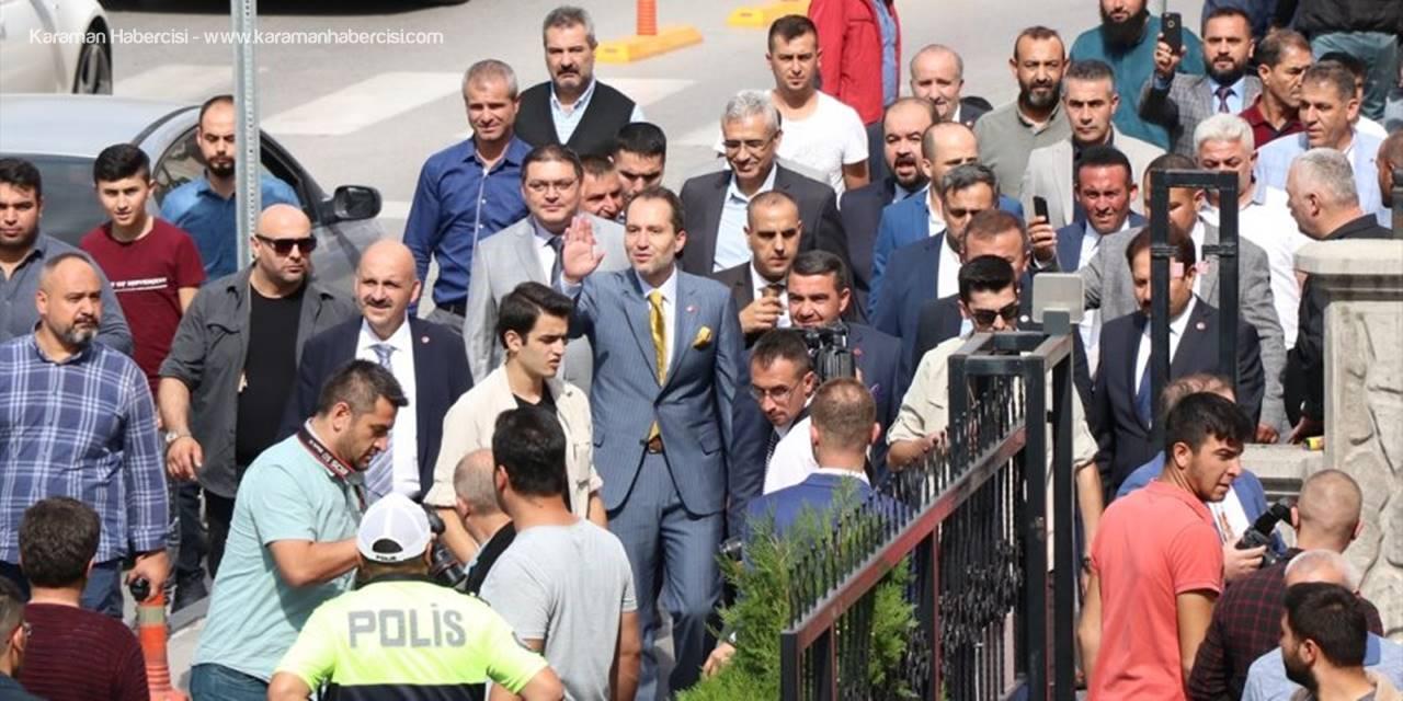 Yeniden Refah Partisi Genel Başkanı Fatih Erbakan Niğde'de