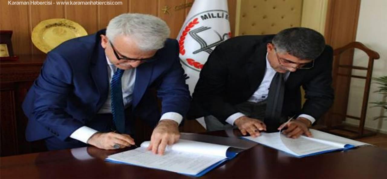 Karaman'da Akademisyenler ve Eğitimciler Liseli Öğrencilerle Buluşuyor