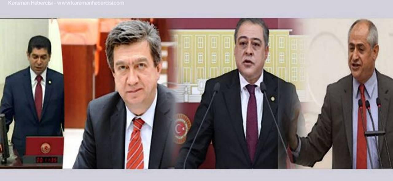 CHP Milletvekilleri Karaman'a Hayırı Anlatmaya Geliyor