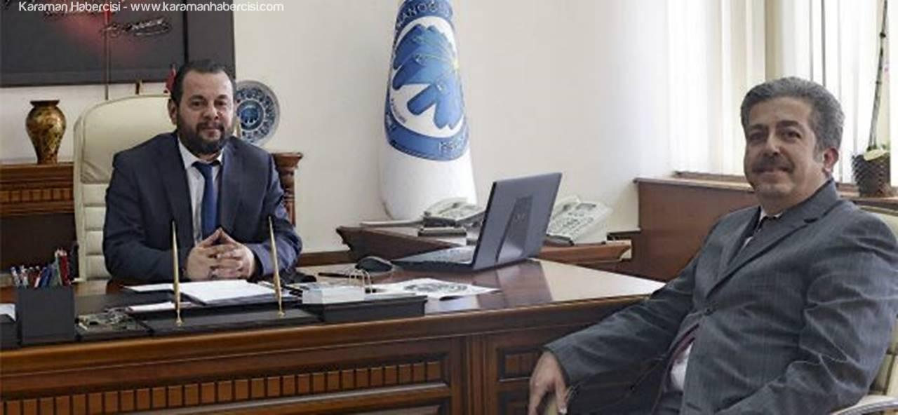 Çarkacı'dan Rektör Akgül'e Tebrik Ziyareti