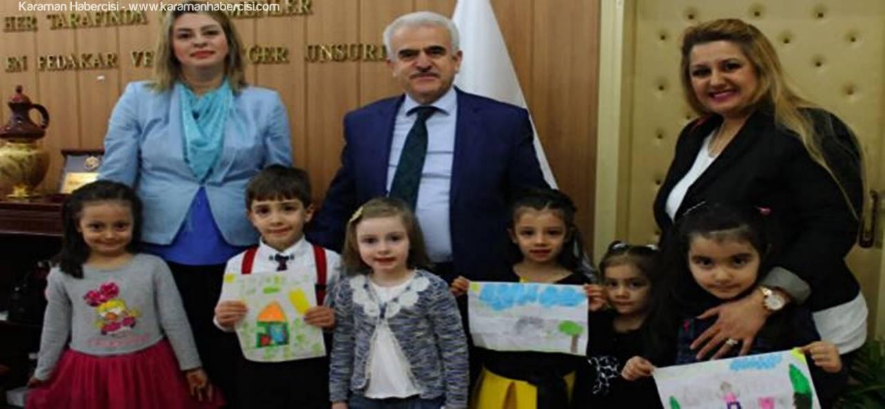 Miniklerden, Kuntoğlu'na Ziyaret
