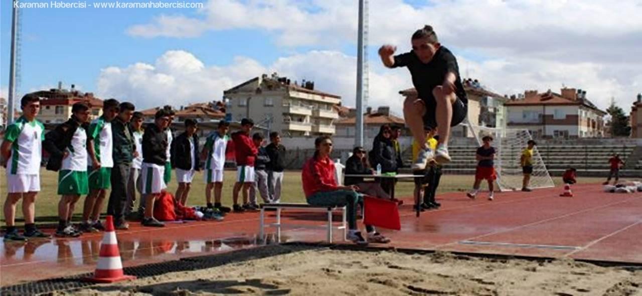 Karaman'da Puanlı Atletizm Yarışmaları Sona Erdi
