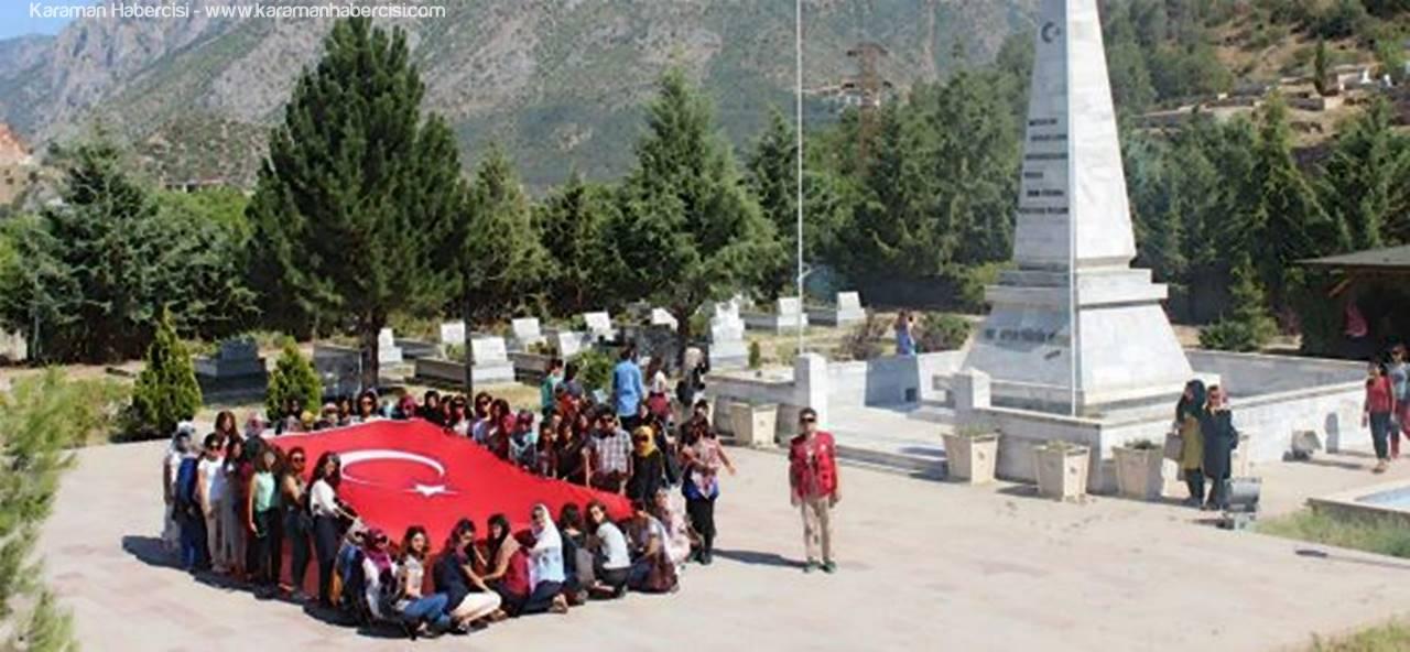 Karaman Gençlik Merkezi Gençleri Amasya'ya Gitti