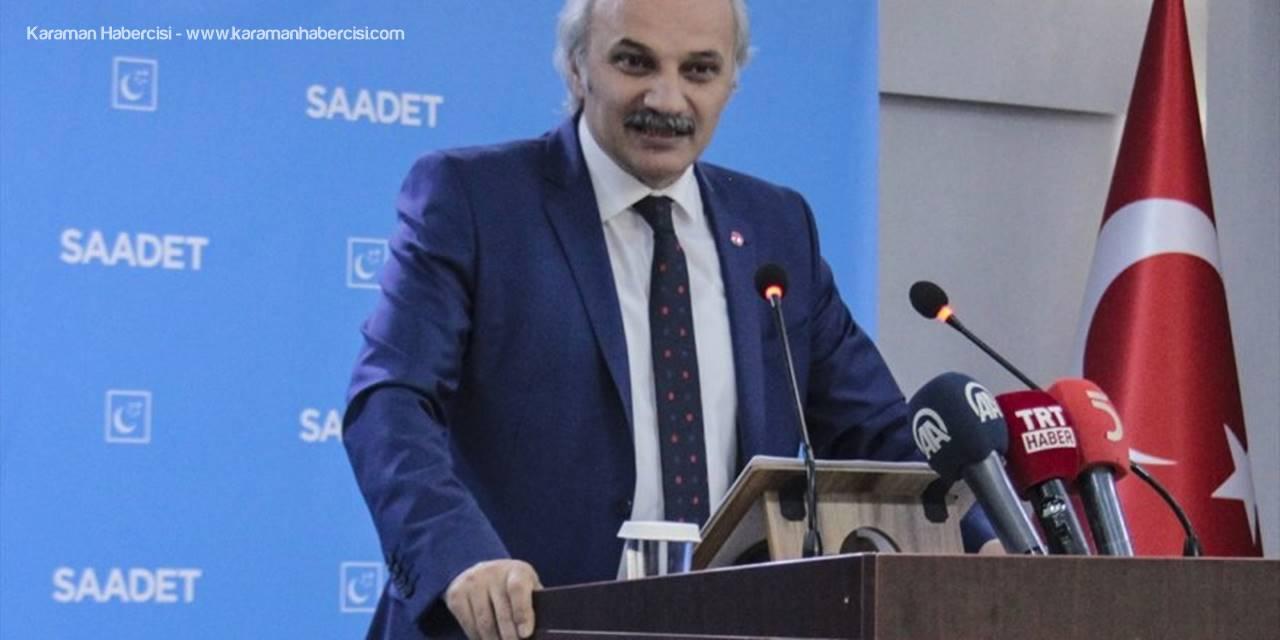 Saadet Partisi Genel Başkan Yardımcısı Birol Aydın: