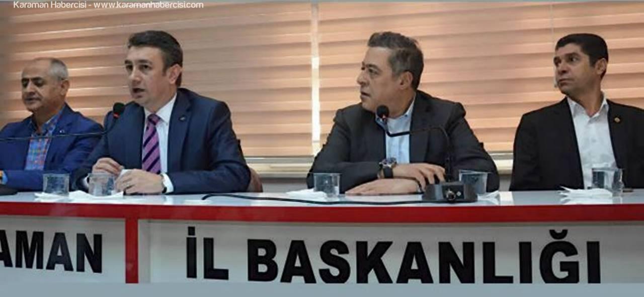 CHP Heyeti, Karaman'a Geldi