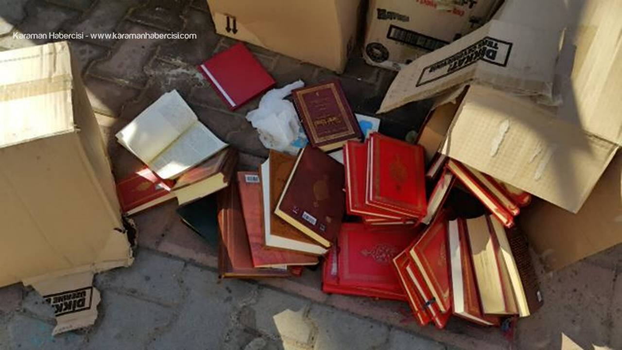 Karaman'da Kitapları Atacak Mezarlık Arıyorlar