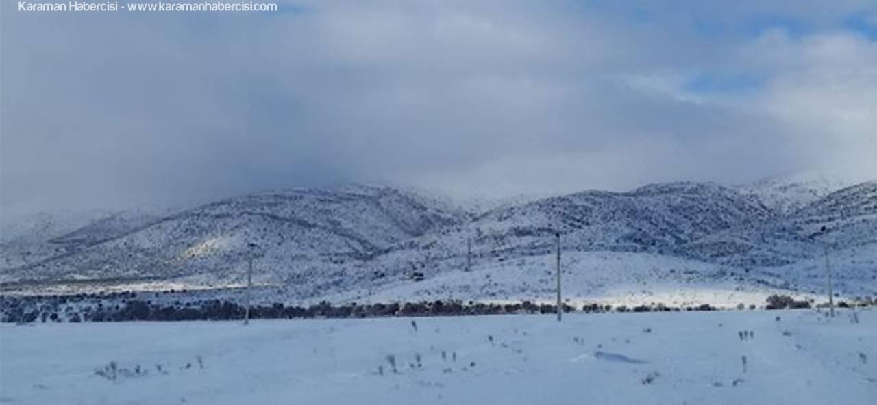 Karaman'da Mart Ayı Şaşırtmadı