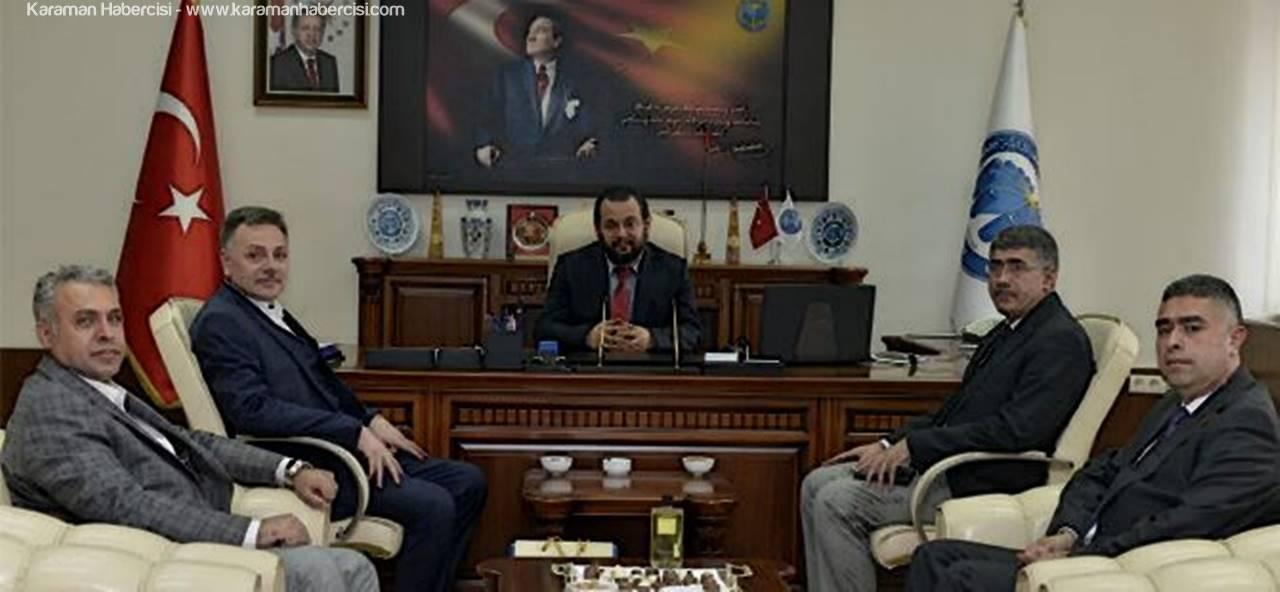 Kahramanmaraş'tan Rektör Akgül'e Ziyaret