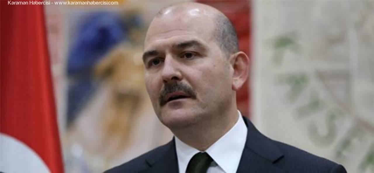 İçişleri Bakanı Süleyman Soylu Yarın Karaman'da