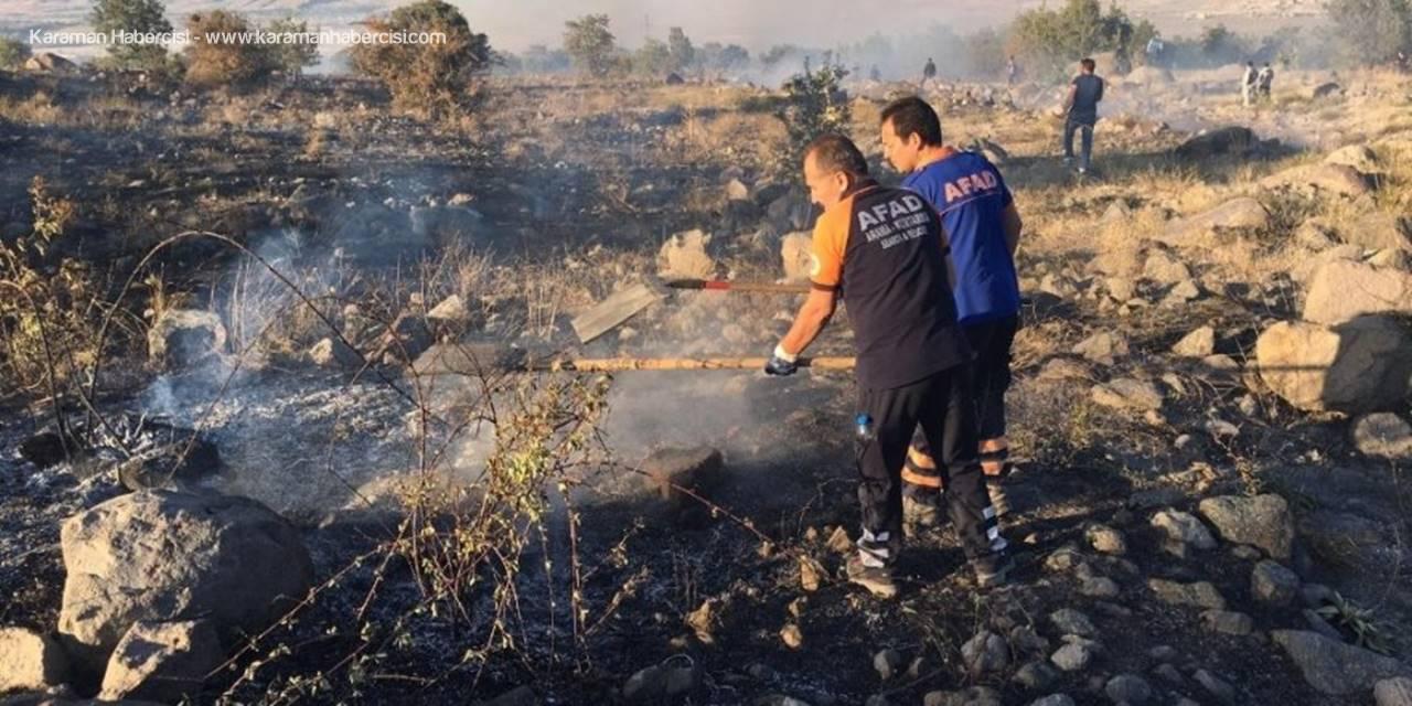 Aksaray'da Hasan Dağı'nda Yangın Paniği