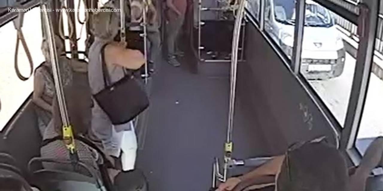 Otobüste Fenalaşan Yolcu Direk Hastaneye Götürüldü