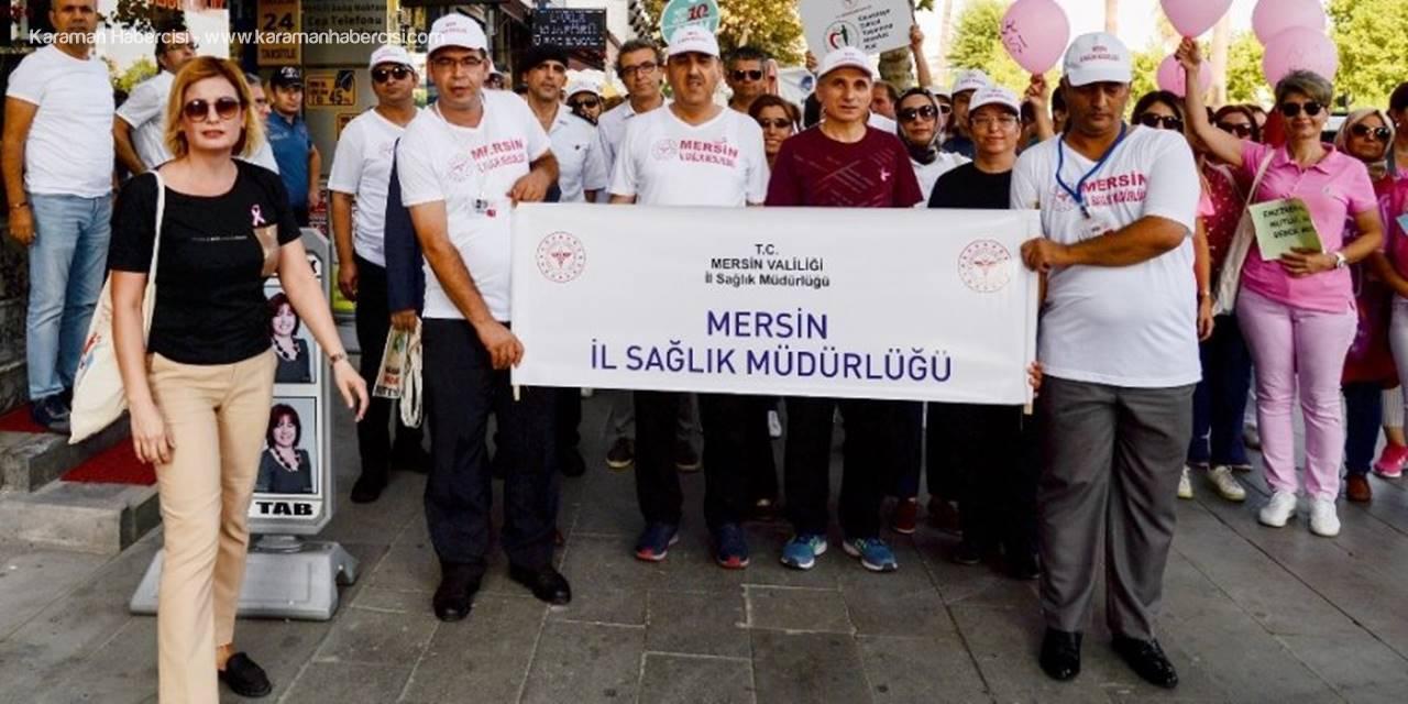 Mersin'de Sağlık İçin Yürüdüler