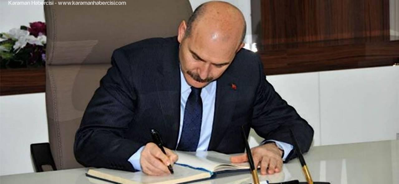 İçişleri Bakanı Süleyman Soylu'nun Karaman Günlüğü