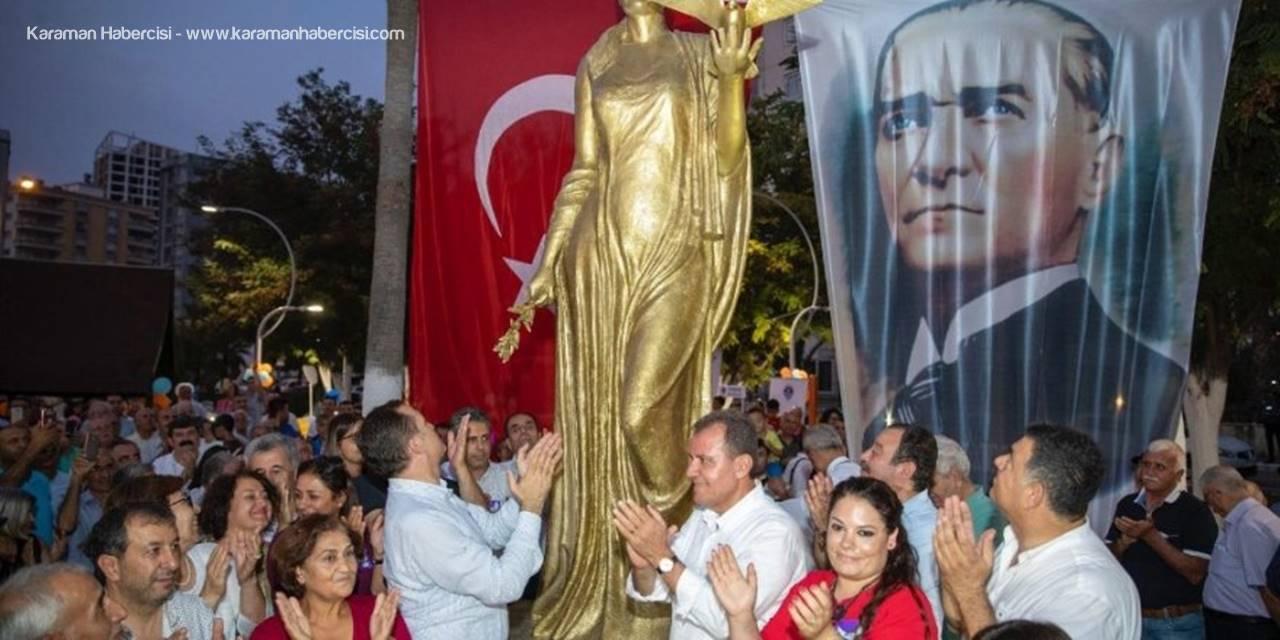 Başkan Seçer, 'Barış Heykeli'nin Açılışına Katıldı
