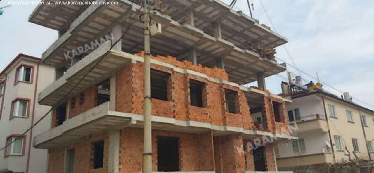 Karaman'da Ölümlü Bir İnşaat Kazası Daha