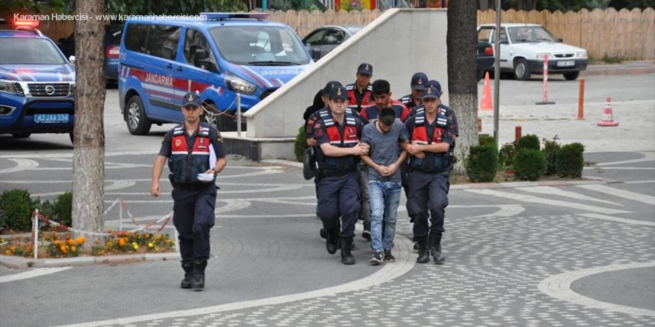 Konya'da Hırsızlık Şüphelilerine Suçüstü Yapıldı