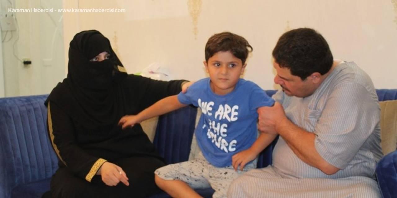Mersin'de Tokatlanan Ürdünlü Çocuğa Psikososyal Destek