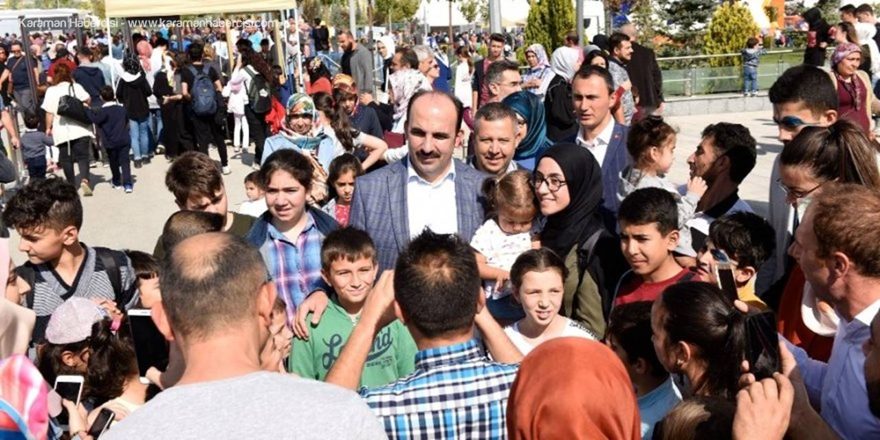 Konya Bilim Festivalini 150 Bin Kişi Ziyaret Etti