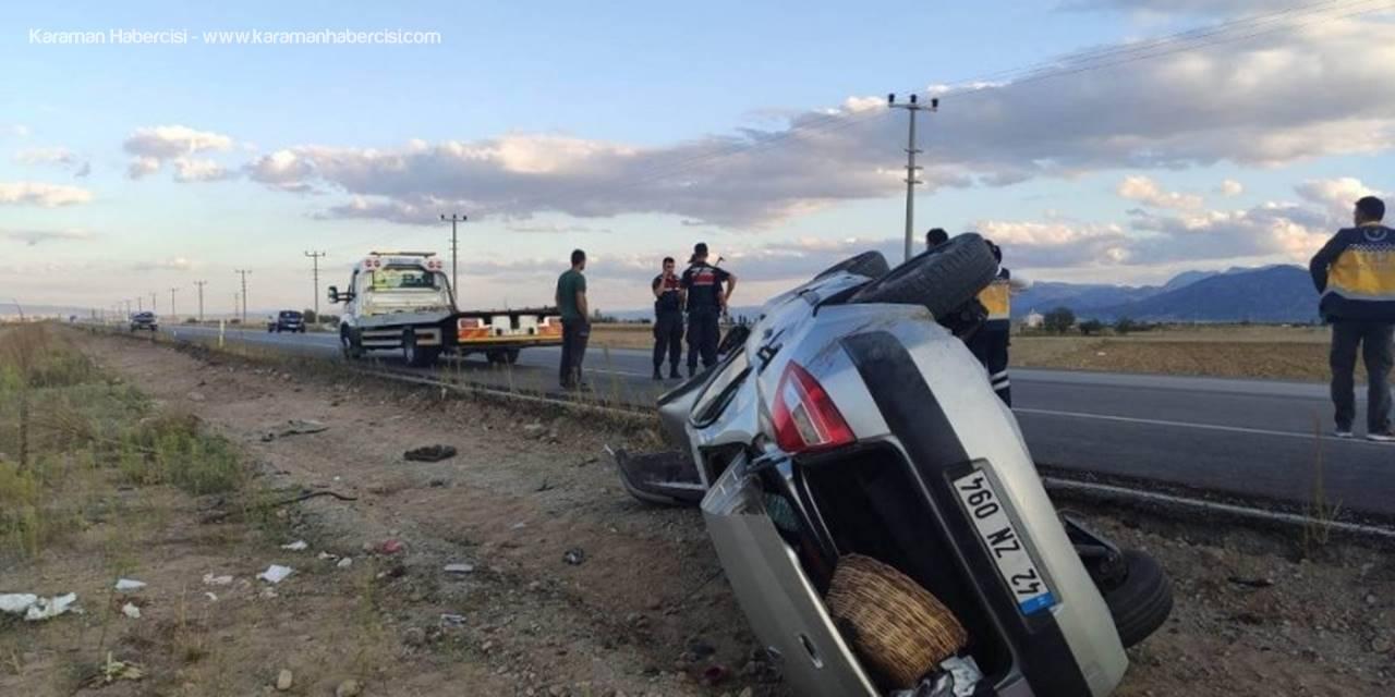 Konya'da Düğün Dönüşü Kaza: 1 Ölü, 1 Yaralı