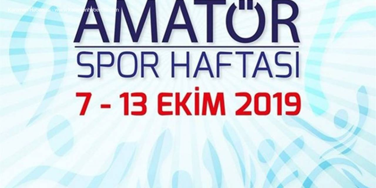 Karaman'da Amatör Spor Haftası Kutlamaları